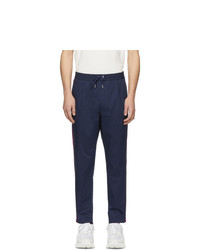Moncler Navy Sportivo Trousers