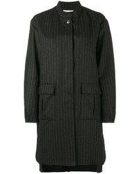 Lot78 pinstripe cocoon coat medium 4471227