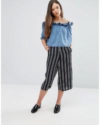 Glamorous Stripe Culottes