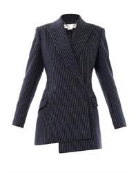 Clarice pinstripe wool blazer medium 151278