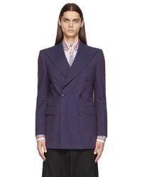 Vivienne Westwood Navy Classic Double Breasted Blazer