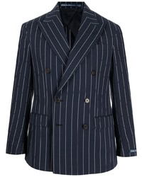 Polo Ralph Lauren Pinstriped Double Breasted Blazer