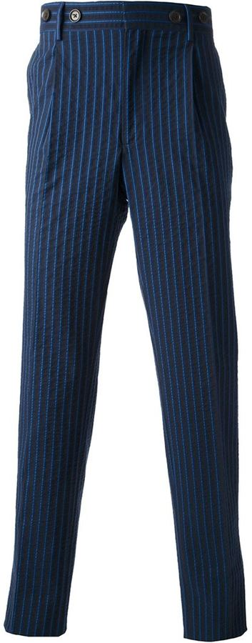 Andrea Incontri Pinstriped Trousers