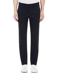 Incotex Brushed Flat Front Trousers