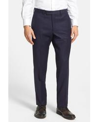 Duckie Brown Gentle Flat Front Wool Trouser