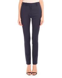 Pinstripe slim leg pants medium 1252334