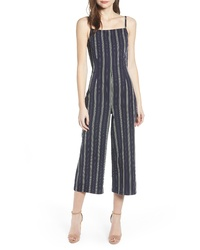 Cupcakes And Cashmere Avery Stripe Jumpsuit