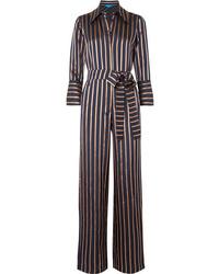 M.i.h Jeans Dexy Striped Jacquard Jumpsuit