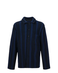 Haider Ackermann Striped Long Sleeve Shirt