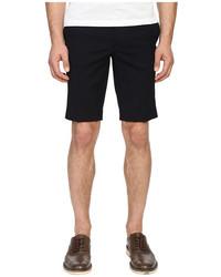 Navy Vertical Striped Seersucker Shorts