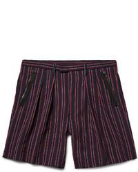 Wooyoungmi Striped Seersucker Shorts