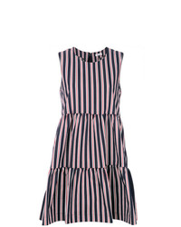 P.A.R.O.S.H. Striped Flared Dress