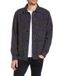 Bonobos Slim Fit Neppy Stripe Shirt Jacket