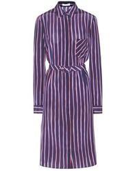 Altuzarra Marian Striped Silk Shirt Dress