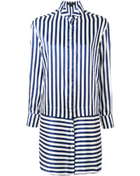 Burberry Striped Shirt Dress