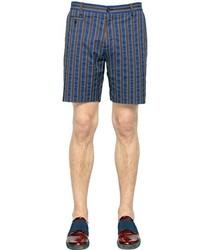 Antonio Marras Striped Cotton Shorts