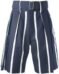 E. Tautz Hastings Striped Shorts
