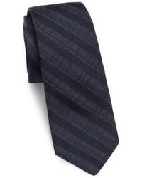 Theory Diagonal Striped Silk Tie