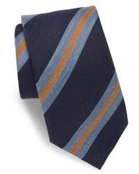 Charvet Striped Silk Blend Tie