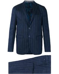 Etro Bar Stripe Two Button Suit