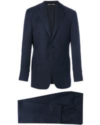 Canali Classic Drop 6 Pinstripe Suit
