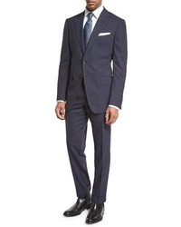 Tom Ford Oconnor Base Narrow Pinstripe Two Piece Suit Bright Blue