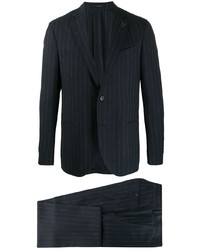 Lardini Pinstripe Two Piece Suit
