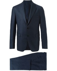 Tagliatore Striped Three Piece Suit