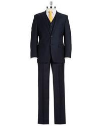 Lauren Ralph Lauren Three Piece Pinstriped Suit