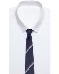 Alexander Olch Striped Silk Necktie