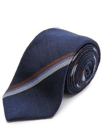 Alexander Olch Striped Silk Necktie