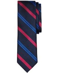 Brooks Brothers Alternating Stripe Slim Tie