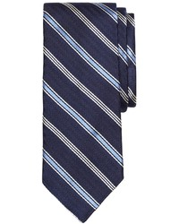 Brooks Brothers Herringbone Alternating Stripe Tie