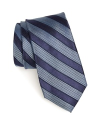 Nordstrom Men's Shop Crawford Stripe Silk Cotton Tie