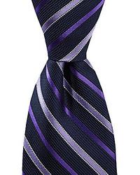 Daniel Cremieux Cremieux Pearl Stripe Silk Tie