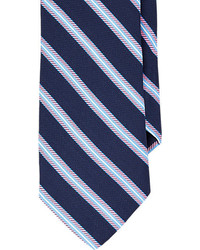 Barneys New York Diagonal Stripe Jacquard Neck Tie
