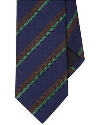 Drakes Drakes Diagonal Stripe Neck Tie