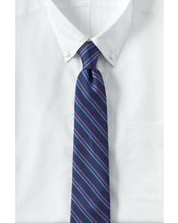 Lands' End Dress Code Double Stripe Tie