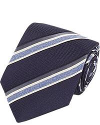 Isaia Border Stripe Neck Tie