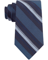 Calvin Klein Midnight Stripe Slim Tie