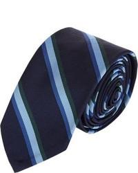 Thom Browne Mix Stripe Neck Tie