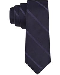 Calvin Klein Pinstripe Skinny Tie