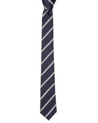 Steven Alan Skinny Rep Stripe Tie
