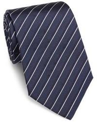 Armani Collezioni Striped Silk Tie