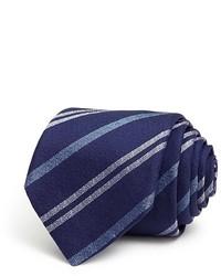 Saint Laurent Yves Sable Stripe Skinny Tie Bloomingdales