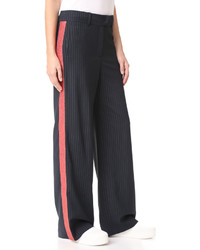 Mira Mikati Glitter Trim Wide Leg Trousers