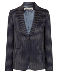 Golden Goose Deluxe Brand Venice Pinstriped Wool And Silk Blend Blazer