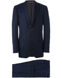 Canali Striped Two Piece Suit
