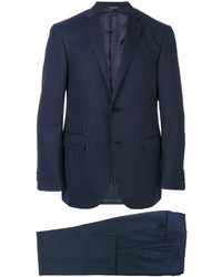 Corneliani Tonal Stripes Two Piece Suit