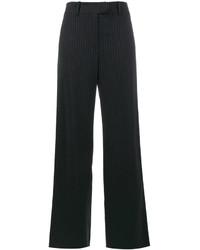 Mira Mikati Glitter Pinstripe Wide Leg Trousers